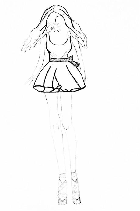 Sukienka na mały biust