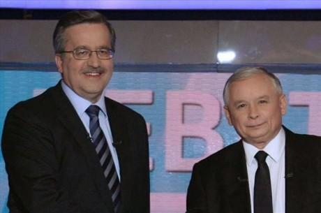 Znaczenie wzrostu. B.Komorowski i J.Kaczyński