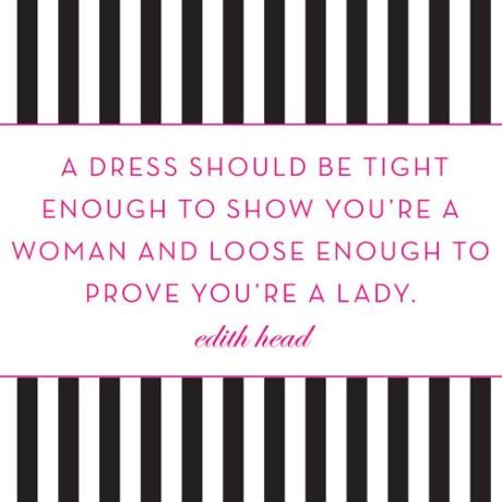 sukienka powinna być