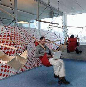 Jakie kolory do biura. Biuro Google w Zurychu. fot. www.google.ch