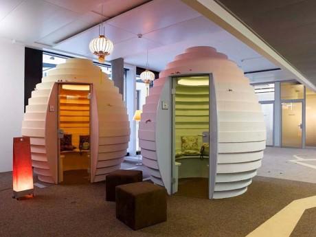 Urządź biuro zgodnie z zainteresowanmiami pracowników. Biuro Google. fot. www.google.ch