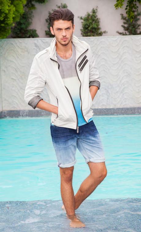 Moda męska na lato od Guess