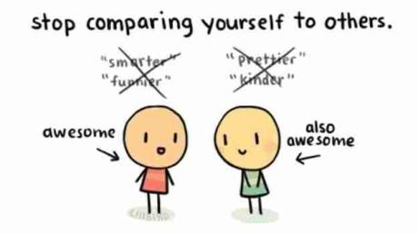 Przestan porownywac sie z innymi