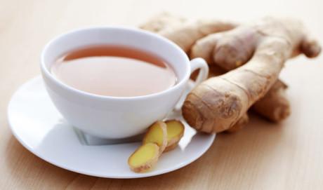 Zdrowa herbatka imbirowa