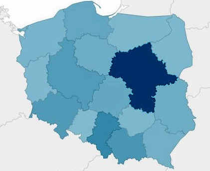 Dane demograficzne Polska PureStyle