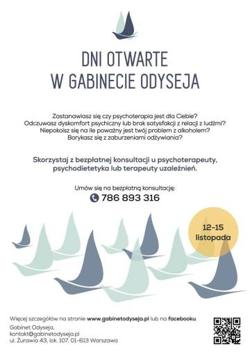 Bezpłatne konsultacje coachingowe i psychologiczne
